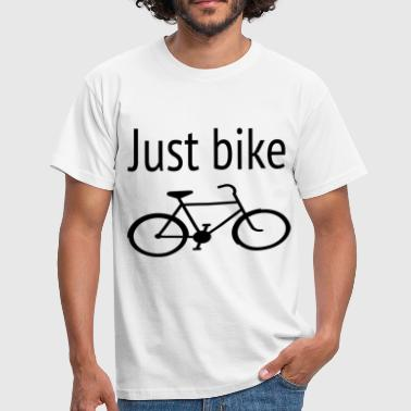 Just Bike! 17 - Mannen T-shirt