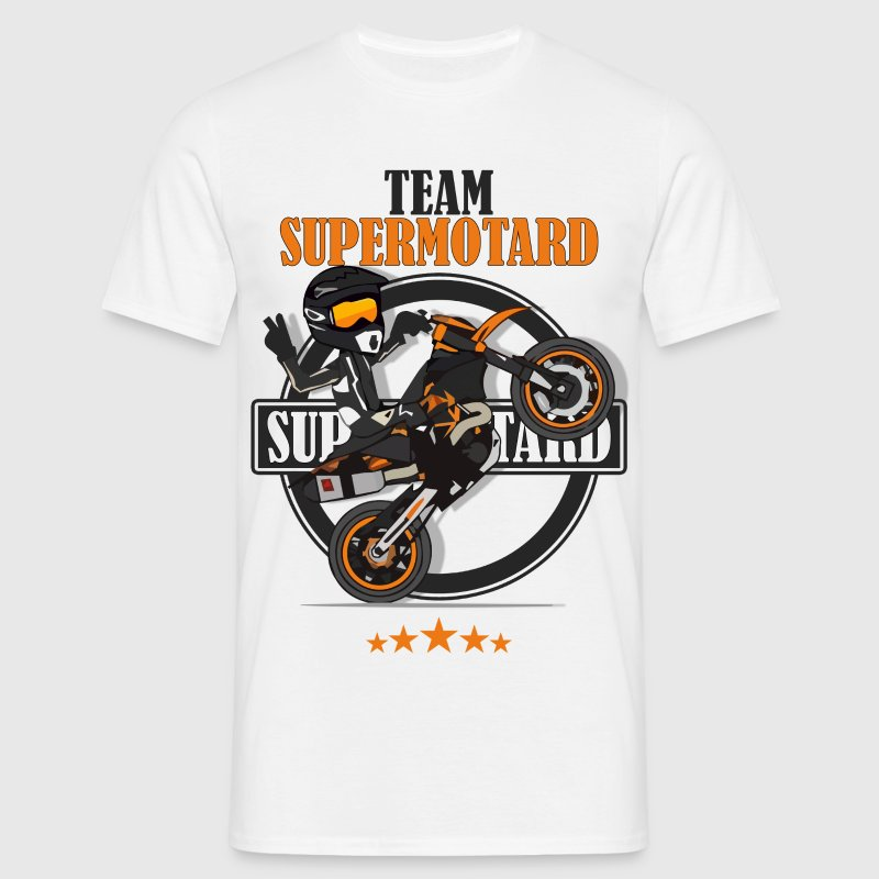 Team supermotard - T-shirt Homme