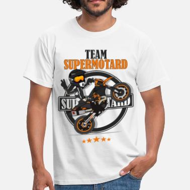 Husqvarna Team supermotard - T-shirt Homme