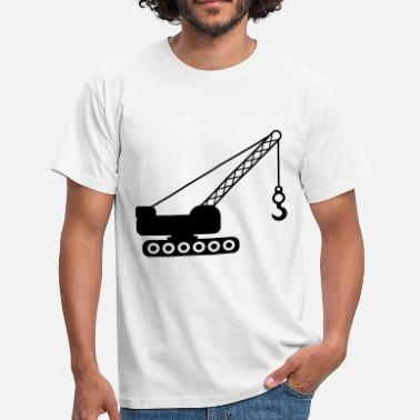 Crane Tech crane - Men's T-Shirt