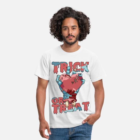 Halloween T-Shirts - Trick or Treat - Men's T-Shirt white