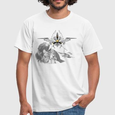 Bomber Pilot Fighter pilot - Männer T-Shirt
