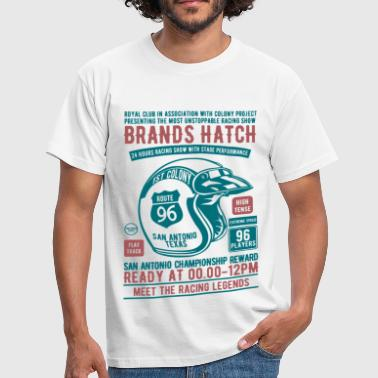 Brands Hatch Racing - Mannen T-shirt