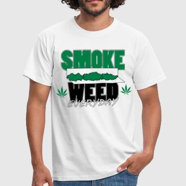 Marley smoke weed everyday rolls - T-shirt Homme