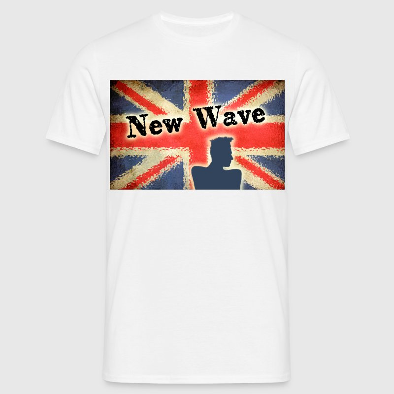 new wave - T-shirt Homme