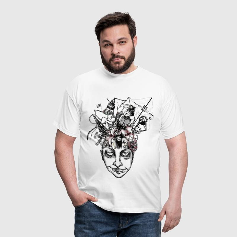 Brain - Trans - Men's T-Shirt