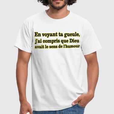 Caca Humour gueule humour - T-shirt Homme