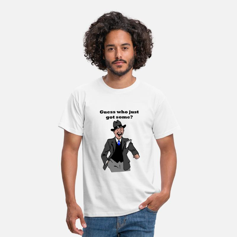 Single T-Shirts - Guess Who? T-Shirts - Men's T-Shirt white