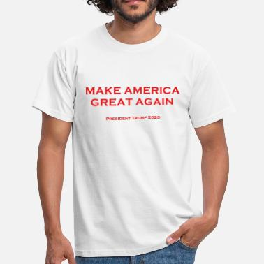 Again Make America Great Again T-Shirt - Männer T-Shirt