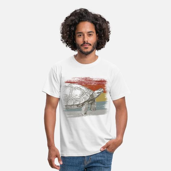 Turtle T-Shirts - turtle - Men's T-Shirt white
