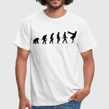Manhattan The Evolution of Breakdancing - Men's T-Shirt