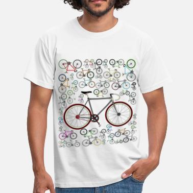 Cycling Love Fixie Road Bike - Men's T-Shirt
