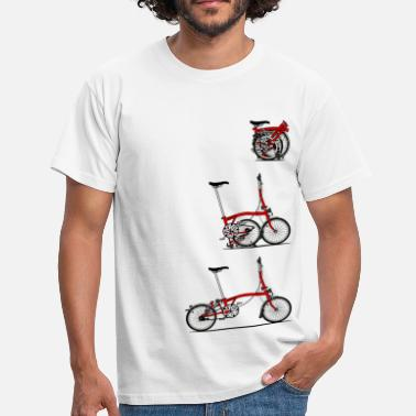 Folding Bike I Love My Folding Brompton Bike - Men's T-Shirt