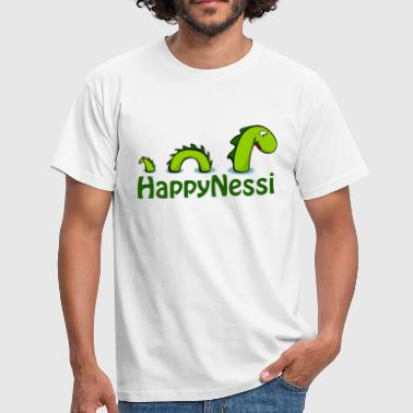 HappiNessi - Männer T-Shirt