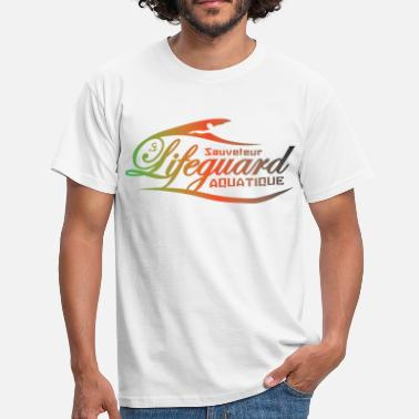 lifeguard multicolor - T-shirt Homme