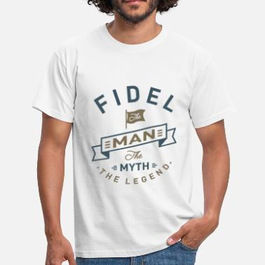 Fidel Fidel - Men's T-Shirt