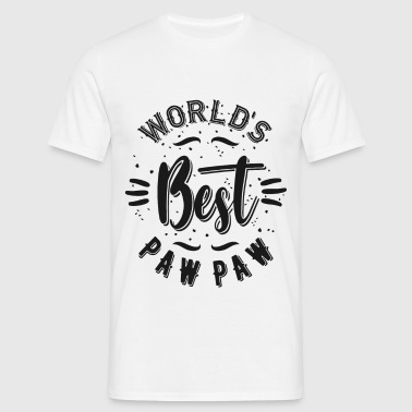 World's Best Paw Paw - Men's T-Shirt