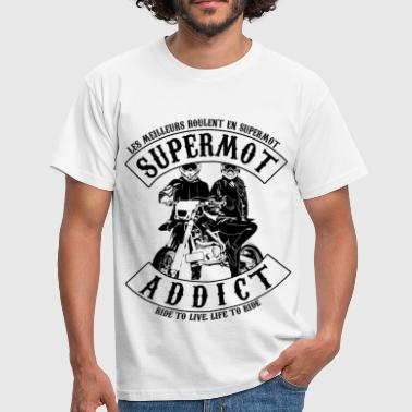 supermot addict - T-shirt Homme