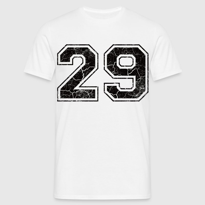 Number 29 in the used look - Men's T-Shirt