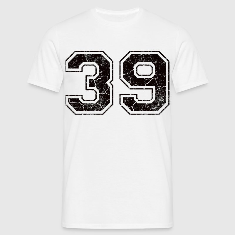 Number 39 in the used look - Men's T-Shirt