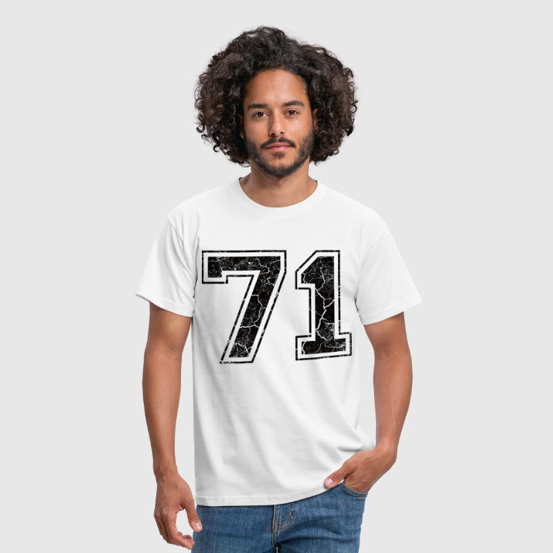 Paie 71 in Grunge Look - T-shirt Homme