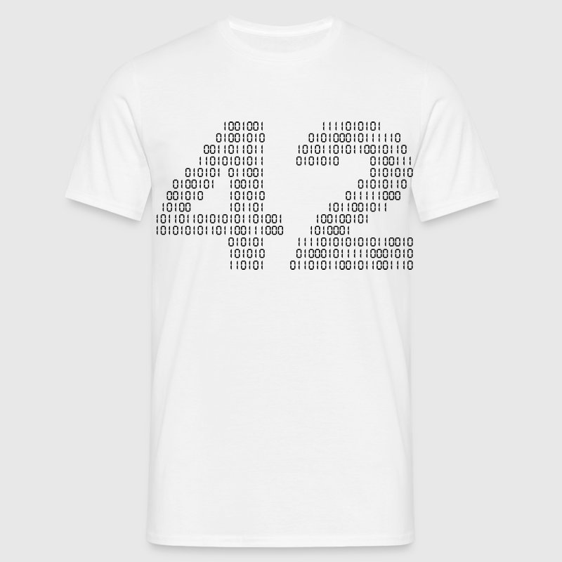42 (The hitchhiker's guide to the galaxy) - Camiseta hombre