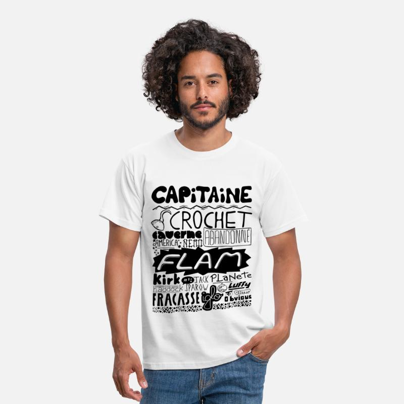 Capitaine T-shirts - capitaine - T-shirt Homme blanc