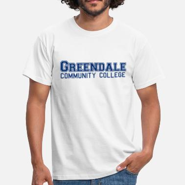 Greendale Greendale Community Collage - Herre-T-shirt