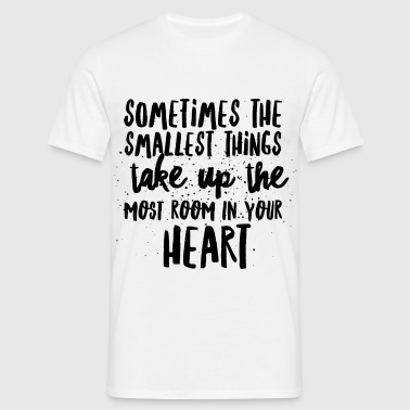 SMALLEST THINGS - MOST ROOM IN HEART - Herre-T-shirt