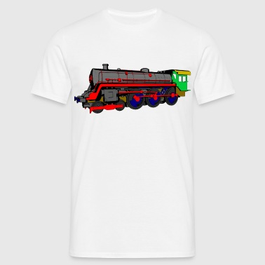 Steam locomotive - Men's T-Shirt