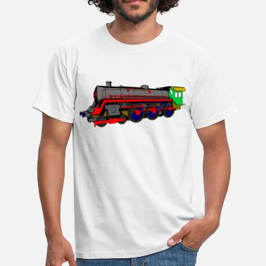 Steam Train Steam locomotive - Men's T-Shirt