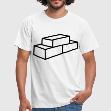 Brick - Men's T-Shirt