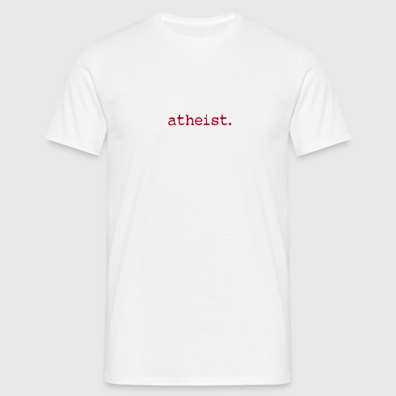 atheist RED - Men's T-Shirt