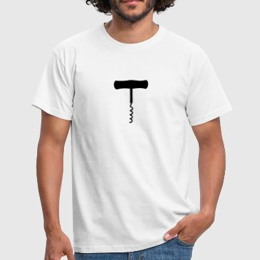 Corkscrew - Men's T-Shirt