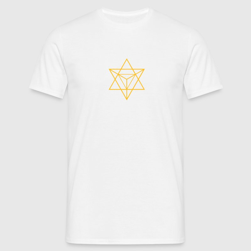 merkaba - flower of life - Men's T-Shirt