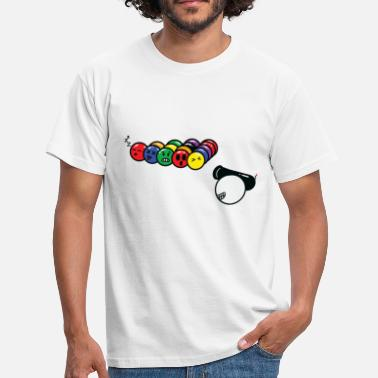 Snooker Pool Billiards Snooker Pool Billiards Pool Cannon Gift - Men's T-Shirt