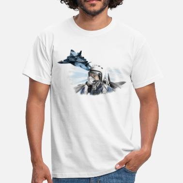 Jet Fighter pilot - Männer T-Shirt