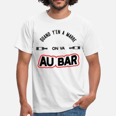 Festival2017 On va au bar t-shirt humour apéro - T-shirt Homme