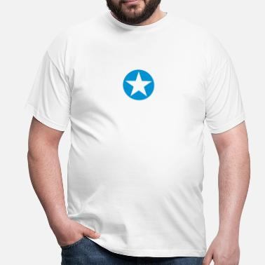 Musicstar star single blackcircle single - Camiseta hombre