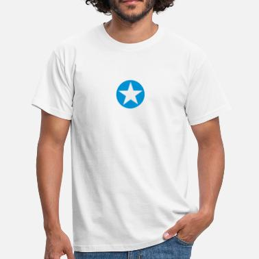 Sterren star single blackcircle single - T-shirt herr