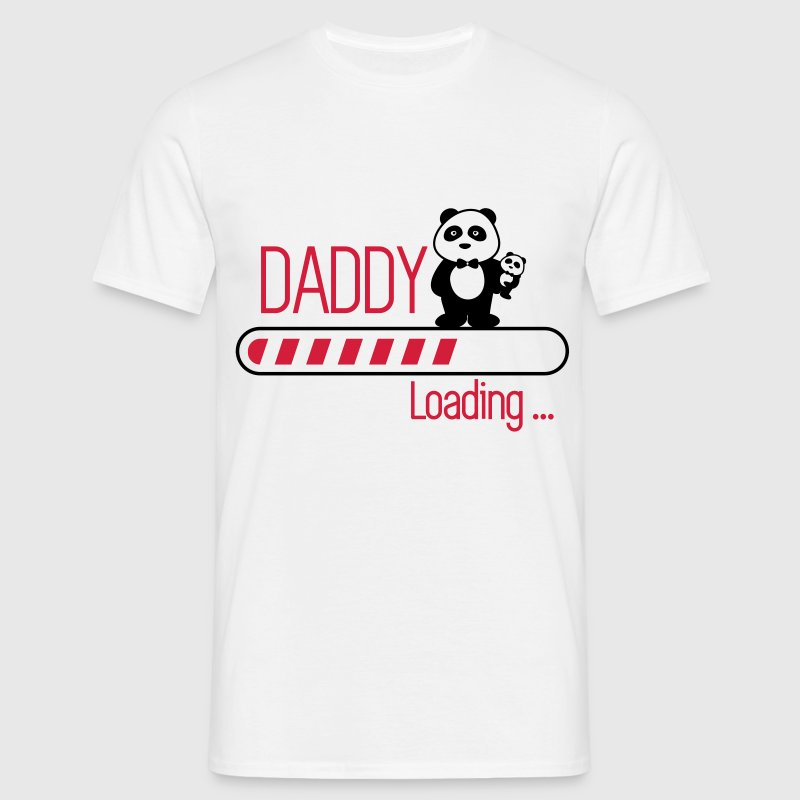 daddy loading - Men's T-Shirt