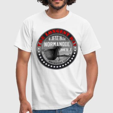 the longest day normandie jour j 1944 - T-shirt Homme