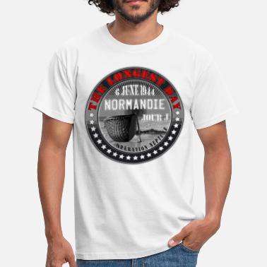 Seconde Guerre Mondiale the longest day normandie jour j 1944 - T-shirt Homme