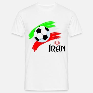 super popular a8732 3b7f3 Football Iran World Cup Men's Premium T-Shirt - white