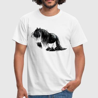 Friese paard – Fries paard - Mannen T-shirt