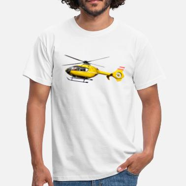 Rescue Helicopters Rescue helicopter EC135 - Men's T-Shirt