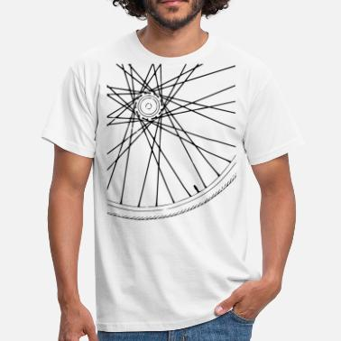 Bicycle Spoke Bicycle Race Spokes Cycling Race w - Men's T-Shirt
