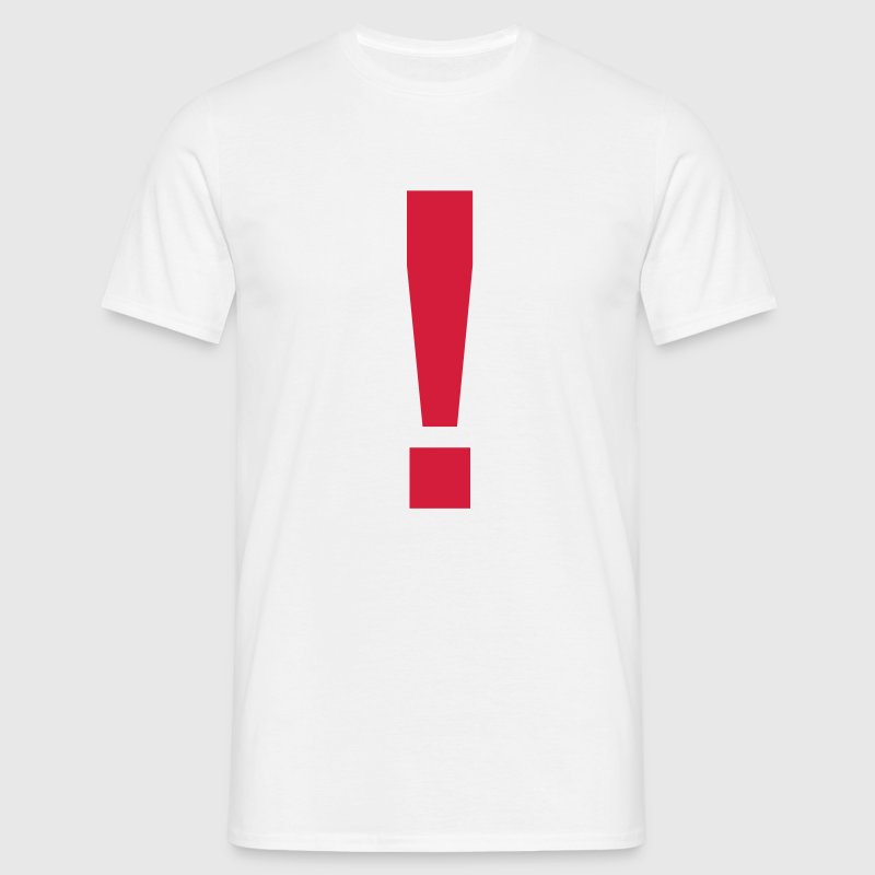 Exclamation Mark ! - Men's T-Shirt