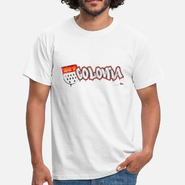 Colonia Graffiti - Männer T-Shirt