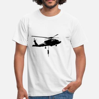 Gign Helico intervention forces speciales - T-shirt Homme